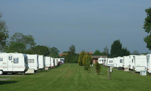 Caravan Park near York